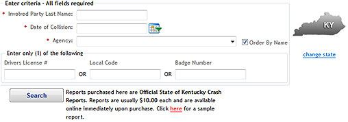 How to Get a Car Accident and Police Report in Kentucky
